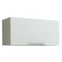Грация Навесной шкаф (Газовка) 500 мм с дверцей, белый металлик