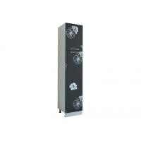 Грация Пенал, шкаф 400 мм с дверьми, цветы