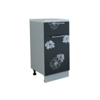 """Грация шкаф 400 мм с дверью и ящиком, цветы """"сакура"""""""