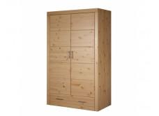 Шкаф из массива сосны комбинированный Брамминг, WoodStock