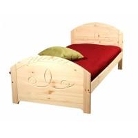 Кровать из массива сосны Элина, 90см, WoodStock