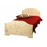 Кровать из массива сосны Аури, 90см, WoodStock