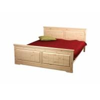 Кровать из массива сосны Дания-1, 160см, WoodStock
