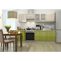 "Кухня ""Сити"" 1,8 м (модульная система) зеленая"