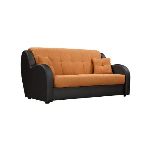 Диван Барон, оранжевый, аккордеон