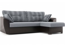 """Угловой диван """"Кокос"""" серо-коричневый"""