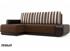 """Угловой диван """"Соло"""" коричневый"""