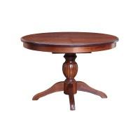 Стол обеденный круглый раздвижной (массив)
