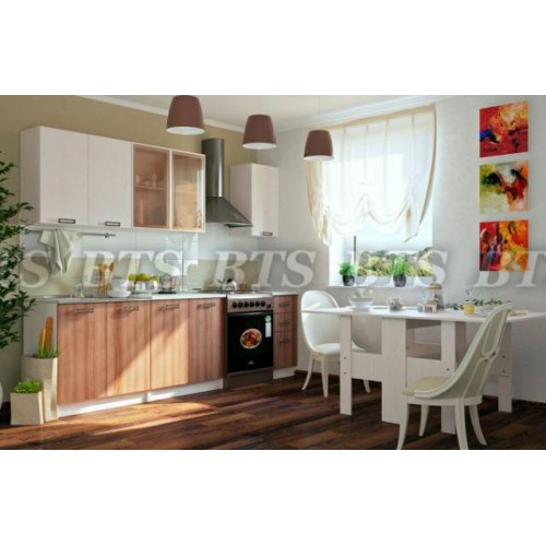 Кухня Катя 2,0 м (Дуб атланта/Ясень шимо)