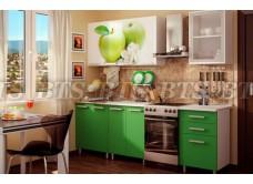 Кухонный гарнитур с фотопечатью «Фруттис» 1,8 м (ЛДСП)