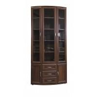 Шкаф для книг №7 полукруглый №175