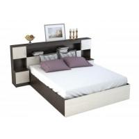 Кровать 1.6 с порталом Бася КР-552