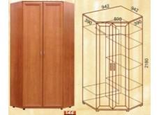 Шкаф угловой М-146