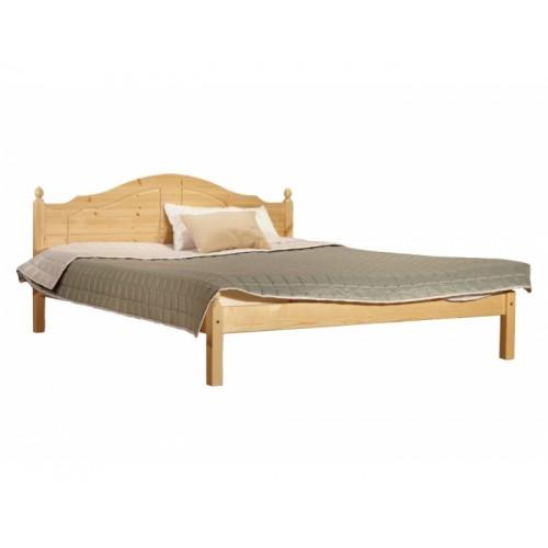 Кровать из массива сосны К1 Кая 160см, WoodStock