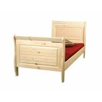 Кровать из массива сосны Дания, 90см, WoodStock