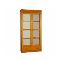 Шкаф из массива сосны книжный Дания, WoodStock