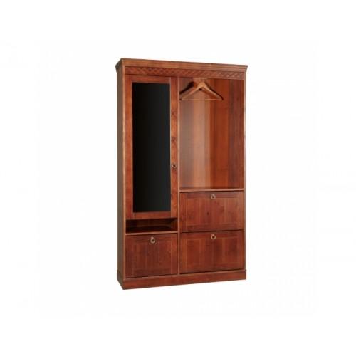 Шкаф для прихожей комбинированный, Дания WoodStock