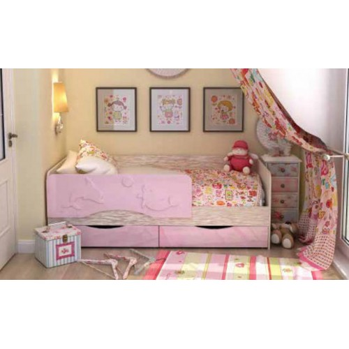 Кровать детская «Андрей 813» МДФ (1800 мм)
