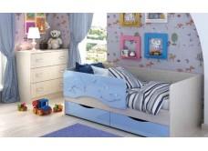 Кровать детская «Андрей 811» МДФ (1400 мм)
