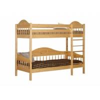 Кровать двухярусная из массива сосны F3 Фрея, WoodStock