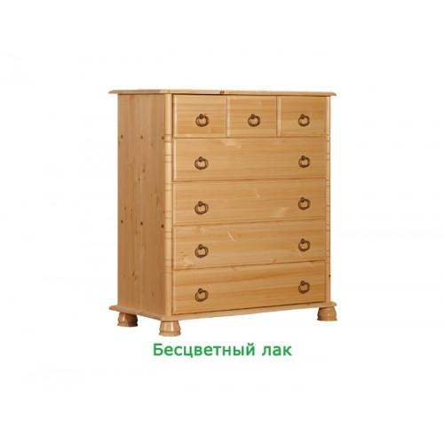 Комод из массива сосны Айно №1 WoodStock
