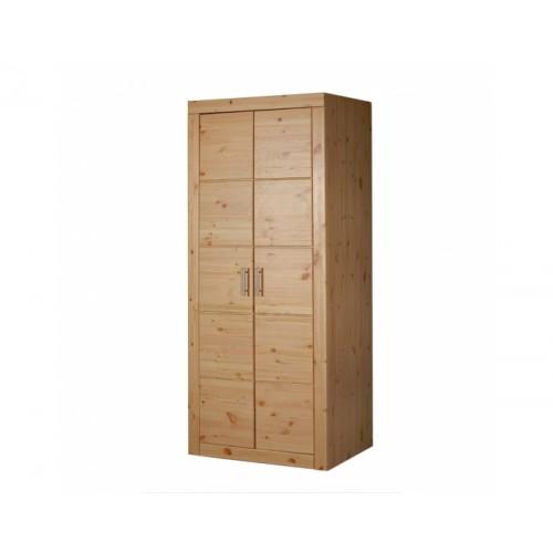 Шкаф из массива сосны платяной Брамминг, WoodStock