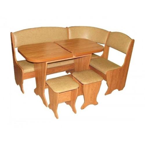 """Кухонный уголок """"Весна"""" с раскладным столом"""