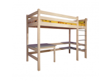 Кровать-чердак из массива сосны