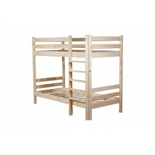 Кровать двухярусная Классик 600 х 1200 бесцв лак