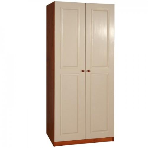 Шкаф из массива сосны комбинированный