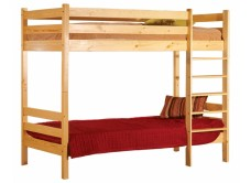 Кровать двухярусная Классик 900 х 2000 бесцв лак