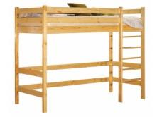 Кровать верхнеярусная Классик 700 х 1900 браун