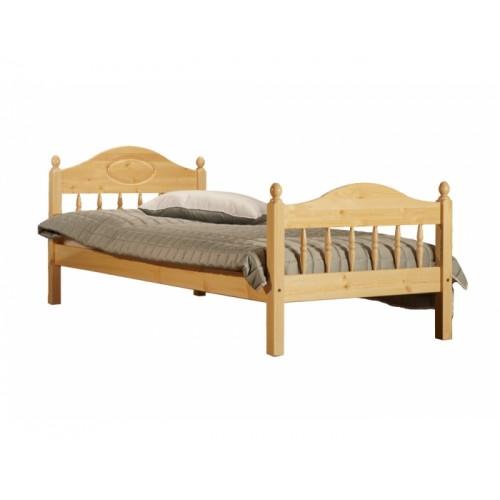 Кровать из массива сосны F2 Фрея 90см, WoodStock