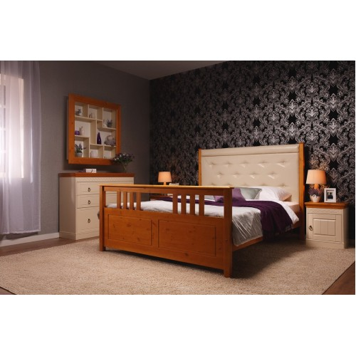 кровать мягкая Дания 3