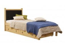 Кровать мягкая Дания 1/1 с ящиками