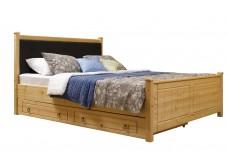 Кровать мягкая Дания 1 с ящиками