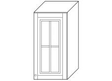"""""""Скайда2""""шкаф40 навесной (1 дверь стекло) высота990"""