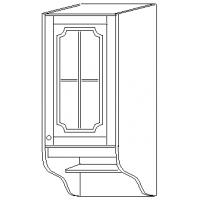"""""""СКАЙДА 1"""" шкаф 30 навесной (1 дверь стекло)"""
