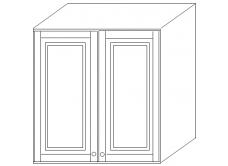 """""""Скайда2""""шкаф60 навесной (2 двери дерево) высота990"""