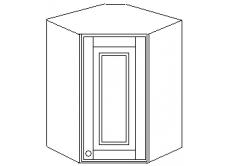 """""""Скайда2""""шкаф угл. навесн.60(1 дверь дерево) высота720"""